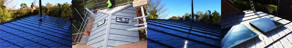 zinc roofs